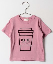 b-ROOM/COFFEEプリントTシャツ/500122155