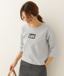 URBAN RESEARCH DOORS/Lee×DOORS‐natural‐ LOGO SHORT SWEAT/500134944