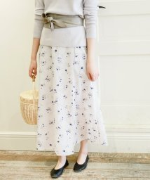 SLOBE IENA/小花柄巻きスカート◆/500135353