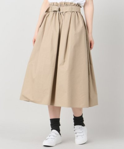 ギャバフレアースカート