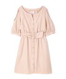 JILL by JILLSTUART/LACY SLIT SHIRT DRESS/500106258