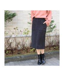 MODE ROBE/裏起毛ダブルポケットタイトスカート/500132161