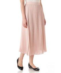 NATURAL BEAUTY BASIC/ジョーゼットプリーツスカート/500140050