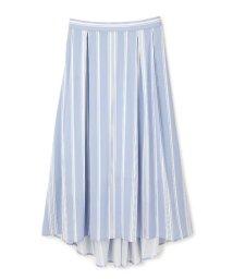 PROPORTION BODY DRESSING/《BLANCHIC》ストライプジョーゼットスカート/500140108