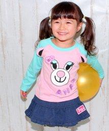 ANAP KIDS/くまラグランロングTシャツ/500128010