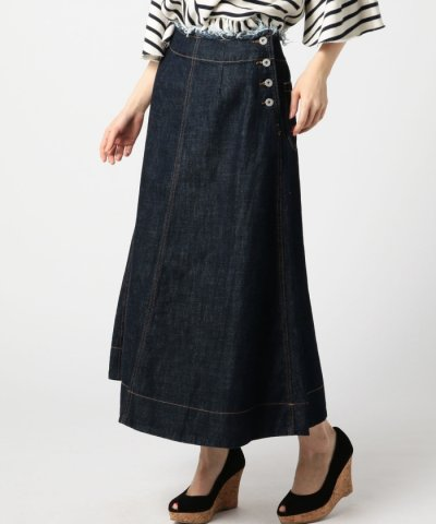 (ROSEBUD)デニムロングスカート