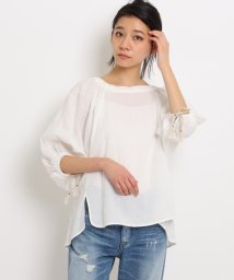DRESSTERIOR/Traditional Weatherwear リネンスモッキングシャツ/500143067