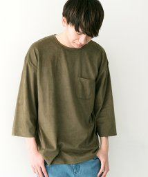 URBAN RESEARCH/【WAREHOUSE】フェイクスエードTEE/500129481