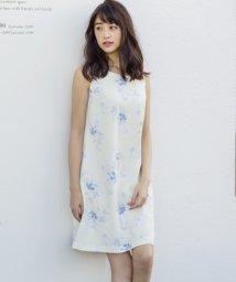MISCH MASCH/【美人百花 3月号掲載】花柄Aラインワンピース/500133770