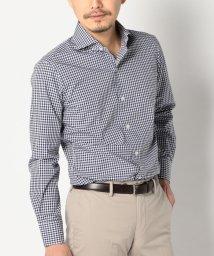 SHIPS MEN/SD: 【ALBINI 社製生地】 ギンガムチェック ホリゾンタルカラー シャツ/500148340