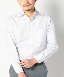 SHIPS MEN/SD: 【ALBINI社製生地】 ピンストライプ ワイドカラー シャツ(ライトブルー)/500148341