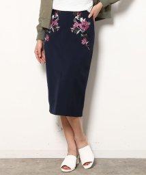 ViS/刺繍タイトスカート/500140193