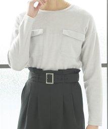 KOBE LETTUCE/ポケット付きニット/500106964