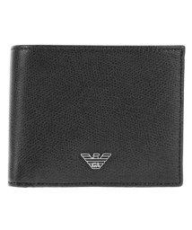EMPORIO ARMANI/EMPORIO ARMANI 二つ折り財布(小銭入れ付)/500135317