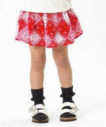 Seraph / F.O.KIDS MART/バンダナ柄スカートパンツ/500140809