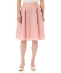 NATURAL BEAUTY BASIC/【美人百花 5月号掲載】シャンブレーツイルフレアースカート/500152233