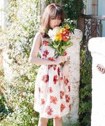 MIIA/【セットアップ対応商品】オパール加工タックフレアースカート/500152432