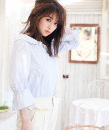 MIIA/ぬき衿オフショル2WAYブラウス/500152460