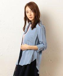 MIIA/サイドスリット3WAYシャツ/500152461