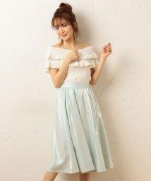 MIIA/カラータックギャザースカート/500152472
