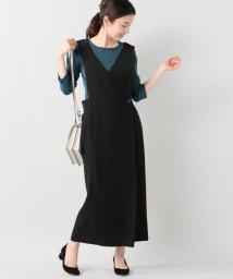 SLOBE IENA/CLANE CROSS DESIGN ジャンバースカート/500153002