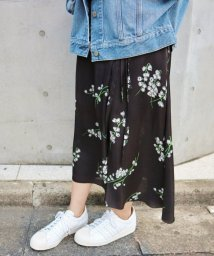 IENA/リリープリント スカート◆/500153580