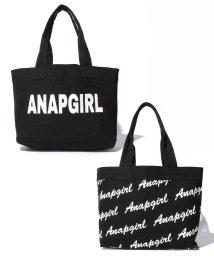ANAP GiRL/リバーシブルロゴトートバッグ/500131880