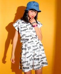 ANAP GiRL/ロゴ柄インパンツスカート/500131883