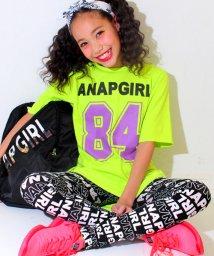 ANAP GiRL/ロゴナンバートップス&レギンス SET/500131887