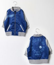 crocs(KIDS WEAR)/袖切替スカジャン/500140970