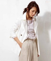 NIJYUSANKU(LARGE SIZE)/REGGIANI COTTONOX STRETCH ピージャケット/500154332