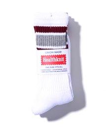 FREAK'S STORE/Healthknit/ヘルスニット 3Pラインソックス/500154553