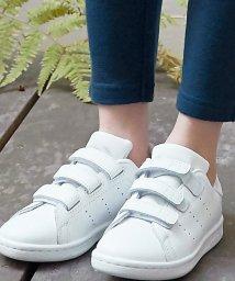 green label relaxing (Kids)/WEB限定【adidas(アディダス)】スタンスミス ホワイト/500137488
