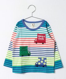 Green Parks(Kids)/chocola wish 自動車Tシャツ/500137896