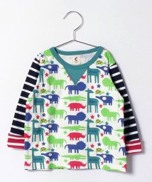 Green Parks(Kids)/chocola wish ・動物柄Tシャツ/500137897