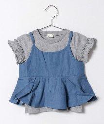 b-ROOM/Tシャツ+ビスチェセット/500147285