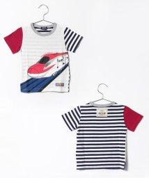 kladskap/プラレール新幹線半袖Tシャツ/500148330