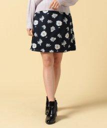 MAJESTIC LEGON/花柄台形スカート/500151643