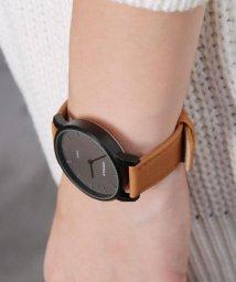 colleca la/オールブラック腕時計/500159042