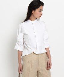DRESSTERIOR/Scye マオカラー袖折り返しシャツ/500161943