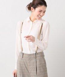 IENA/Peラウンドカラーシャツ/500162415