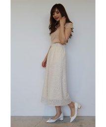 PROPORTION BODY DRESSING/【美人百花 5月号掲載】カットジャガードガウチョ/500142234
