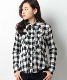 CARA O CRUZ/ギンガムチェックシャツ/10250033N