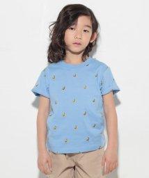 XLARGE KIDS/バナナ刺しゅう入りTシャツ/500147379