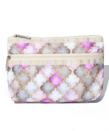 LeSportsac/COSMETIC CLUTCH モロッカンタイルピンク/LS0018210