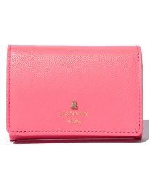 LANVIN en Bleu(BAG)/リュクサンブールカラー 3つ折り財布/LB0002528