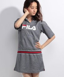FILA/杢リバーメッシュ半袖ワンピース/001786845