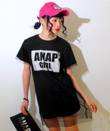 ANAP GiRL/ロゴチュール重ねワンピース/500143370