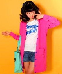 ANAP GiRL/ロゴTシャツ&ロングカーディガン SET/500143372