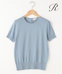 NIJYUSANKU/【LMITED SHOP R(アール)】W/SI 18G PLAIN KNIT /500168801